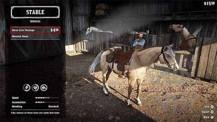 Лошадь в RDR 2