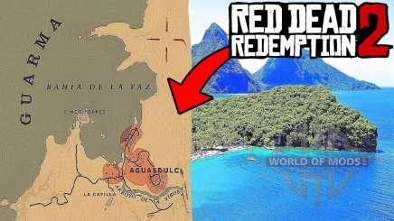 Остров Гуарма в RDR 2