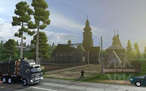 Euro Truck Simulator 2 позволит взглянуть на Россию