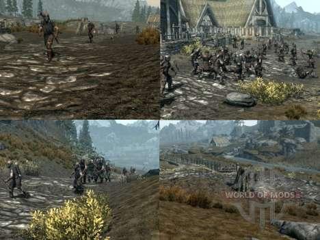 Больше войны на просторах Скайрима для Skyrim четвертый скриншот