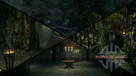 Зловещий особняк для Skyrim пятый скриншот