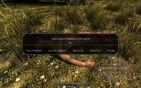 Уборка трупов для Skyrim одиннадцатый скриншот