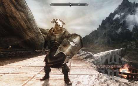 Набор брони и оружия Урук-хаев для Skyrim