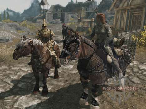 Броня для лошадей для Skyrim одиннадцатый скриншот