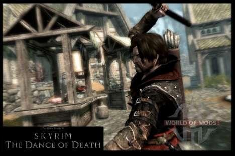 Пляска смерти v4.0. Новая анимация смерти для Skyrim шестой скриншот
