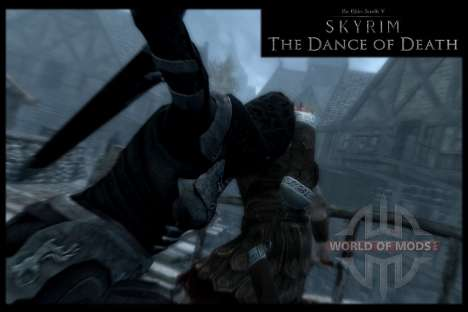 Пляска смерти v4.0. Новая анимация смерти для Skyrim четвертый скриншот
