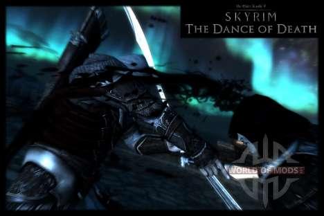Пляска смерти v4.0. Новая анимация смерти для Skyrim третий скриншот
