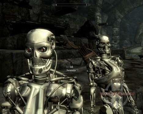 Раса терминаторов для Skyrim шестой скриншот