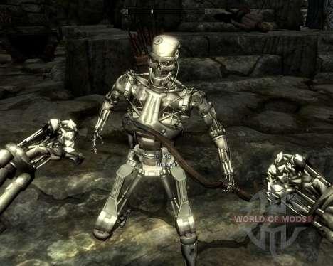 Раса терминаторов для Skyrim четвертый скриншот
