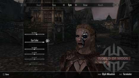 Раса терминаторов для Skyrim третий скриншот
