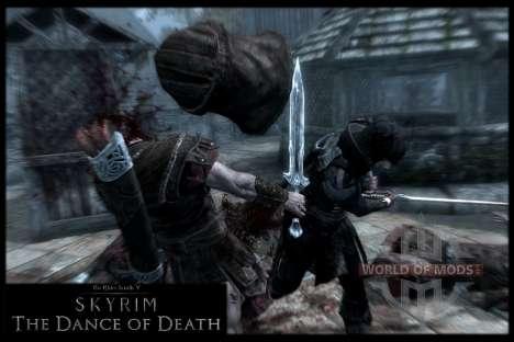 Пляска смерти v4.0. Новая анимация смерти для Skyrim восьмой скриншот