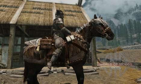 Броня для лошадей для Skyrim десятый скриншот