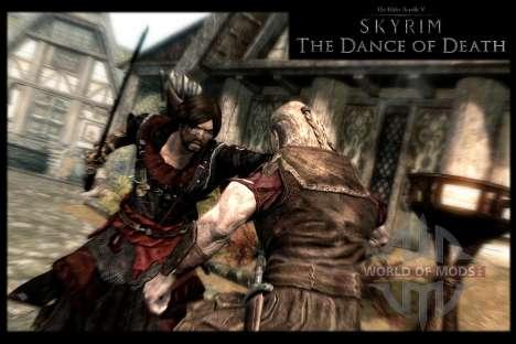 Пляска смерти v4.0. Новая анимация смерти для Skyrim пятый скриншот