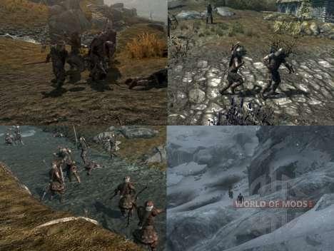 Больше войны на просторах Скайрима для Skyrim третий скриншот