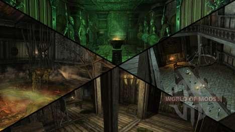 Зловещий особняк для Skyrim седьмой скриншот