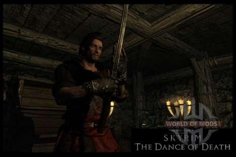 Пляска смерти v4.0. Новая анимация смерти для Skyrim седьмой скриншот