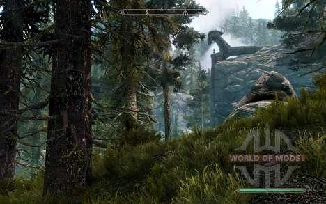 Реалистичные сосны для Skyrim четвертый скриншот