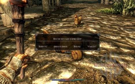 Уборка трупов для Skyrim седьмой скриншот