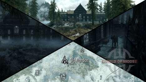 Зловещий особняк для Skyrim шестой скриншот