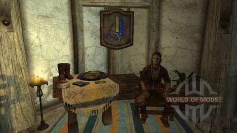 Торговец одеждой в Вайтране для Skyrim второй скриншот