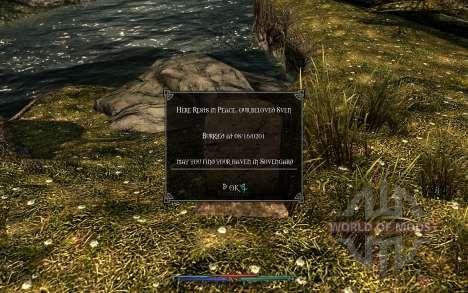 Уборка трупов для Skyrim