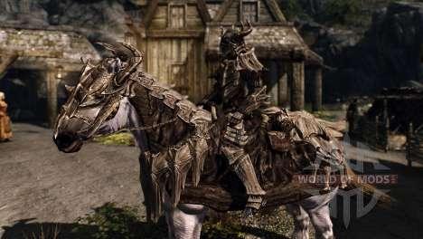 Броня для лошадей для Skyrim четвертый скриншот