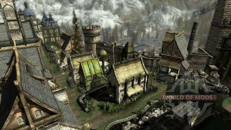 Маленький дом в Солитьюде для Skyrim четвертый скриншот