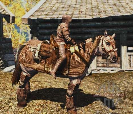 Броня для лошадей для Skyrim третий скриншот
