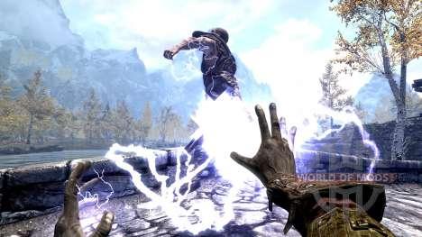 Молния Императора для Skyrim второй скриншот