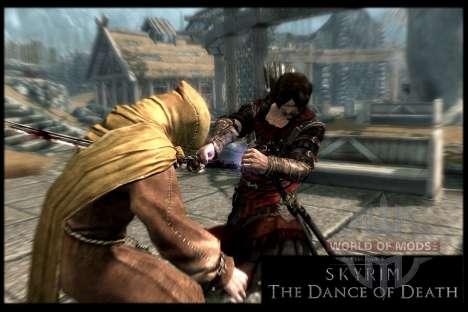 Пляска смерти v4.0. Новая анимация смерти для Skyrim девятый скриншот