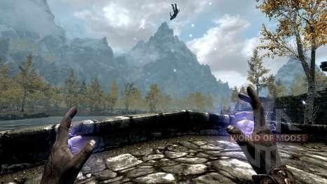 Молния Императора для Skyrim третий скриншот