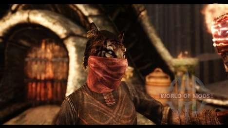 Маски для лица для Skyrim второй скриншот