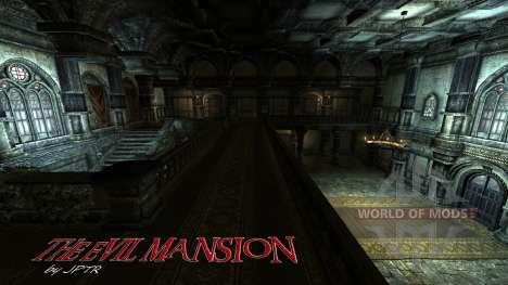 Зловещий особняк для Skyrim второй скриншот