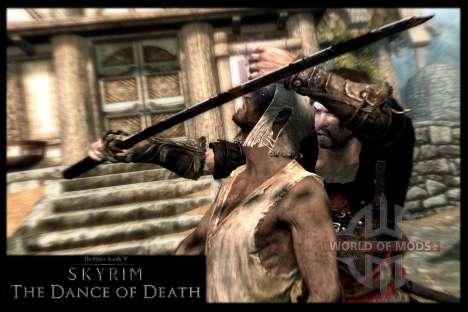 Пляска смерти v4.0. Новая анимация смерти для Skyrim второй скриншот