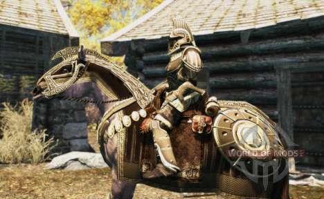 Броня для лошадей для Skyrim восьмой скриншот