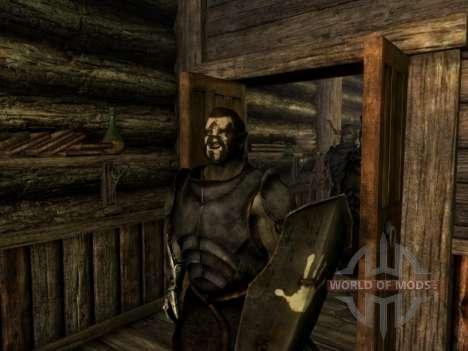 Урук-хай Лурц и раскраска урук-хаев для орков для Skyrim пятый скриншот