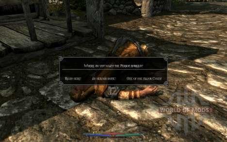 Уборка трупов для Skyrim восьмой скриншот