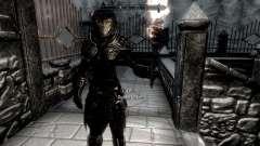 Черно-золотая эльфийская броня
