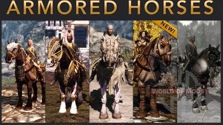 Броня для лошадей для Skyrim