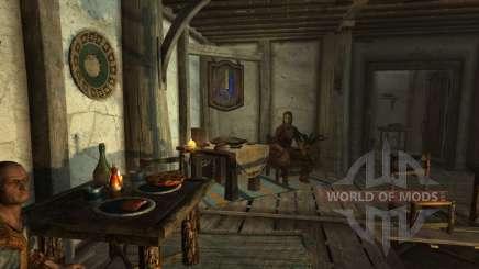 Торговец одеждой в Вайтране для Skyrim