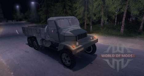 Praga V3S для Spin Tires
