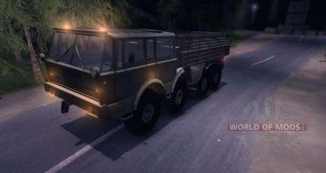 Tatra 813 8x8 для Spin Tires