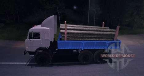 КамАЗ 43101 для Spin Tires
