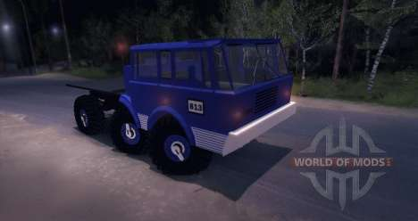 Tatra 813 6X6 TRUCKTRIAL для Spin Tires