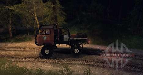 УАЗ 3303 Ладога Трофи для Spin Tires