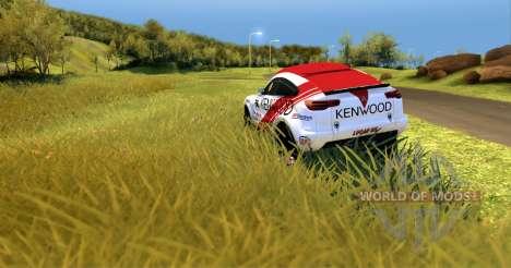 Mitsubishi Lancer Dakar для Spin Tires