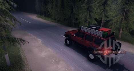 Jeep Cherokee v1.0 для Spin Tires