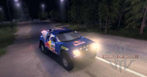 Volkswagen Touareg Dakar Beta для Spin Tires