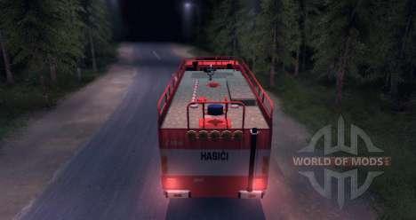 Tatra 815 Пожарная для Spin Tires