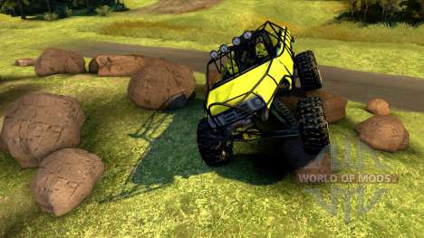 Chevy Blazer Rock Crawler для Spin Tires